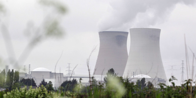 Die Reaktoren Doel 1 und 2 in Belgien