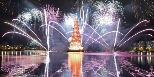 So spektakulär feiern Menschen weltweit Weihnachten