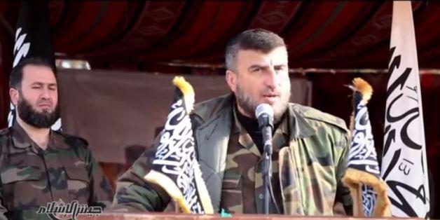 Zahra Allouche, capture d'écran d'une vidéo diffusée par jaich al-islam