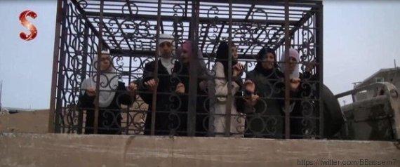 alaouites otages