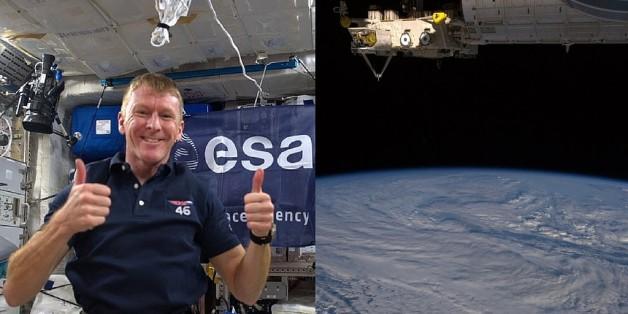 Unerwarteter Kontakt: Astronaut will die Erde anrufen. Und wählt die falsche Nummer
