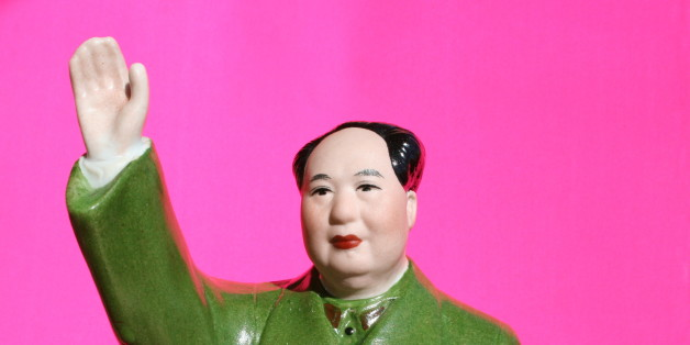 Picture of Mao statue I got for my birthday from a friend who just returned from China.