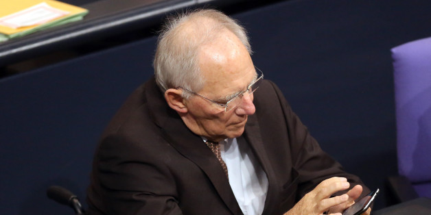 """Wolfgang Schäuble attackiert die SPD: """"Ich habe Mitleid mit Sigmar Gabriel"""""""