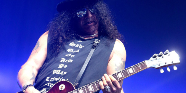 Performt er bald wieder mit Guns N' Roses? Slash bei einem Auftritt in Camden