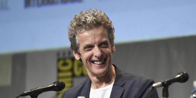 """Peter Capaldi, der derzeitige """"Doctor Who""""-Darsteller, kündigt seinen Abschied an."""