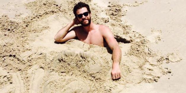 Liam Hemsworth begeistert seine Instagram-Fans.
