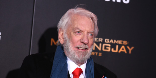 Donald Sutherland seen at Los Angeles Premiere of Lionsgate's 'The Hunger Games: Mockingjay - Part 2' on Monday, November 16, 2015, in Los Angeles, CA. (Photo by Richard Shotwell/Invision for Lionsgate/AP Images)