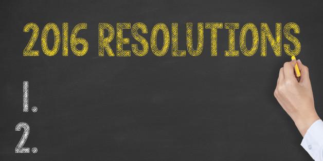 Resolutions 2016 on Blackboard