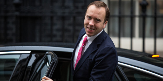 LONDON, ENGLAND - NOVEMBER 17:  Matthew Hancock, Minister for the Cabinet Office and Paymaster General, arrives at Downing Street for the government's weekly cabinet meeting on November 17, 2015 in London, England.  Prime Minister David Cameron has announced plans to recruit 2,000 new spies following claims that UK security services have halted seven terror attacks plots in the past six months.  (Photo by Rob Stothard/Getty Images)