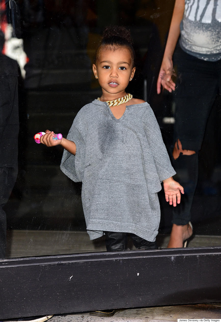 North West\'s Best Outfits Of 2015