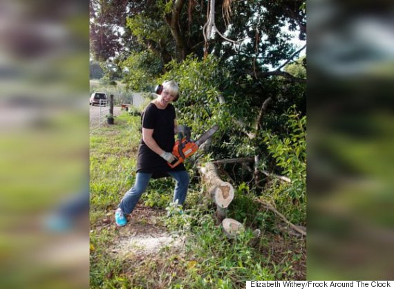 elizabeth withey chainsaw