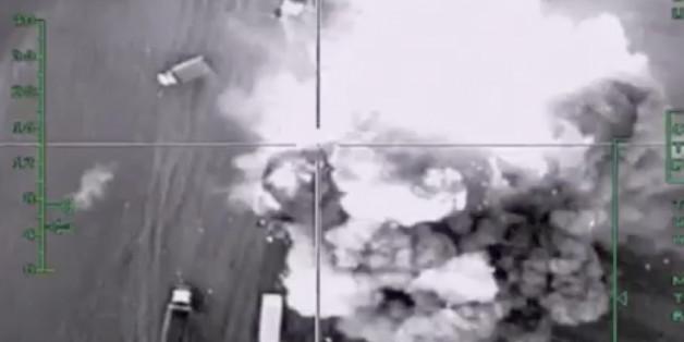 """Berichte von Aktivisten legten nahe, dass """"medizinische Einrichtungen, Schulen und Märkte"""" bei russischen Luftangriffen getroffen worden seien, sagte ein US-Sprecher."""