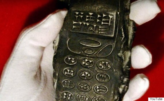 800yearold mobile phone