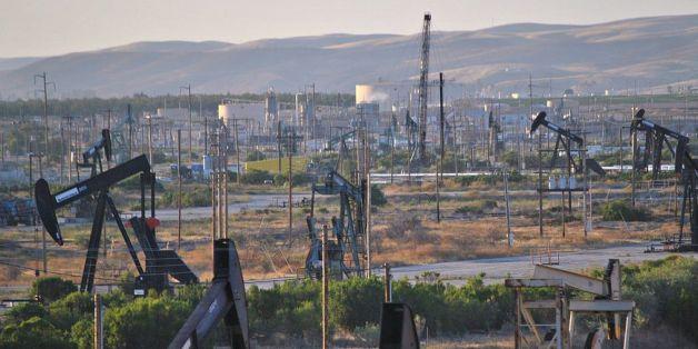 Le champ pétrolier de San Ardo dans le comté de Monterey, en Californie (États-Unis)