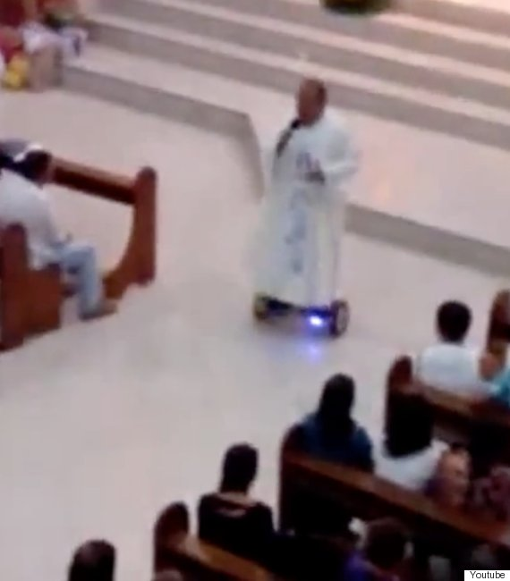 hoverboard priest
