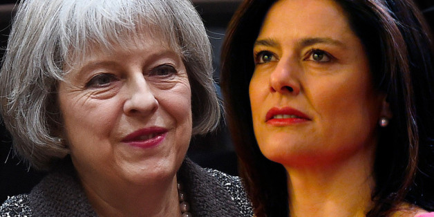 Miriam Gonzalez Durantez and Theresa May