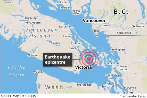 bc earthquake