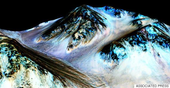 nasa mars water