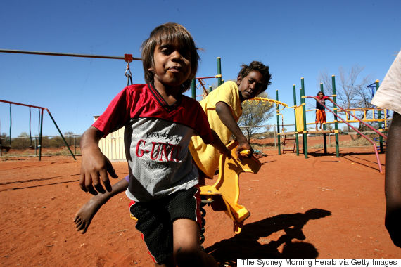 indigenous australian child