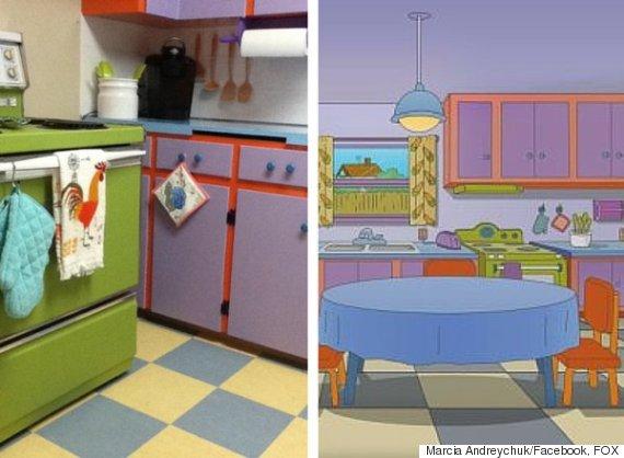 the simpsons kitchen