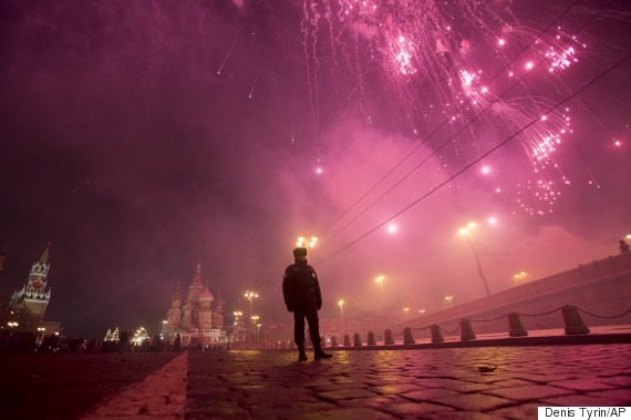 moscow new year