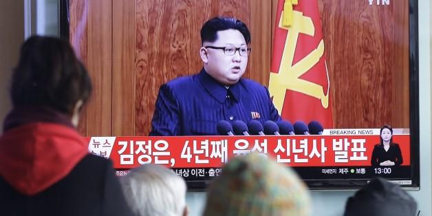 Nordkoreas Diktator Kim Jong Un nutzte seine Neujahrsrede abermals für Drohgebärden