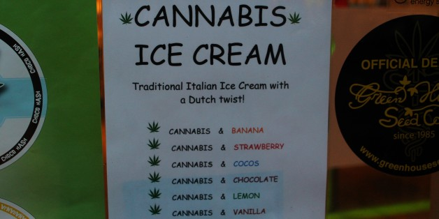 Amsterdam - Cannabis Ice Cream