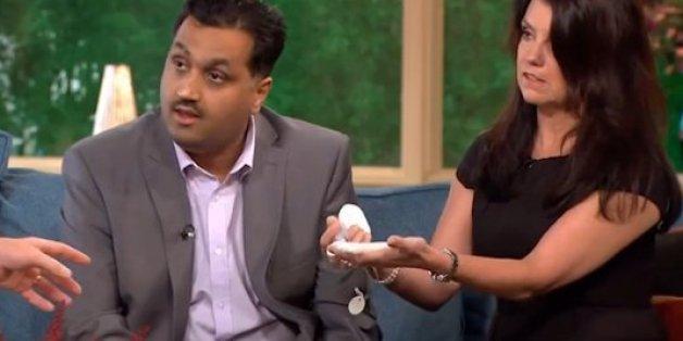 Mohammed erklärt sein Implantat