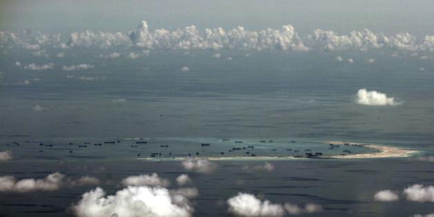 Die Chinesen landeten erstmals mit einem Flugzeug auf den künstlichen Spratly-Inseln.
