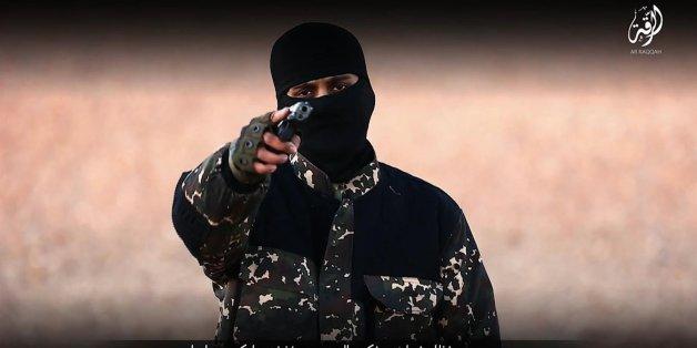 Ein IS-Kämpfer in einem Propaganda-Video