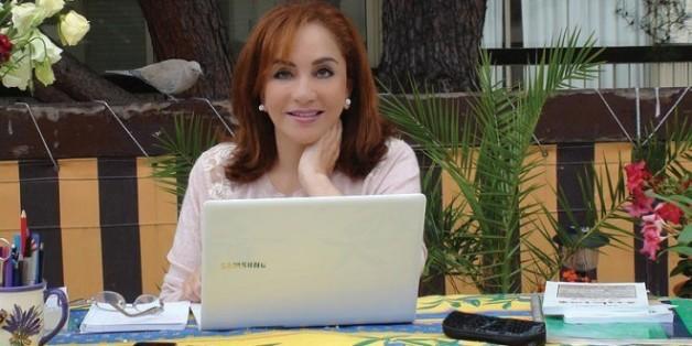 La romancière Ahlam Mostghanemi