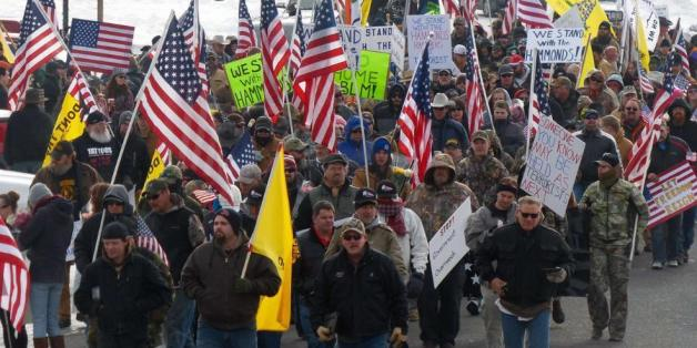 Radikale Farmer protestieren. Foto: AP