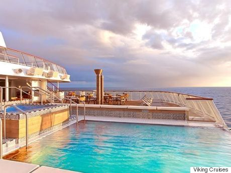 the Viking Cruises Infinity Pool