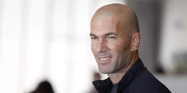 Zidane nommé entraîneur du Real Madrid