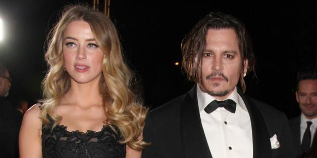 Johnny Depp und Frau Amber Heard sind seit einem Jahr verheiratet