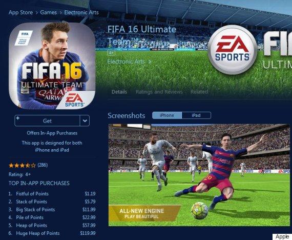 fifa game app store