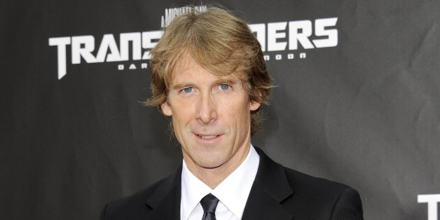Executive producer and director Michael Bay attends the 'Transformers: Dark Of The Moon' premiere in Times Square on Tuesday, June 28, 2011 in New York. (AP Photo/Evan Agostini)