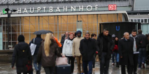Der Kölner Hauptbahnhof