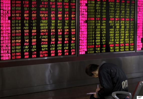 china stock shock