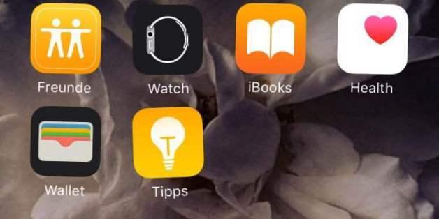 Vorinstallierte Apps von Apple lassen sich nicht vom iPhone löschen - aber zumindest verbergen.
