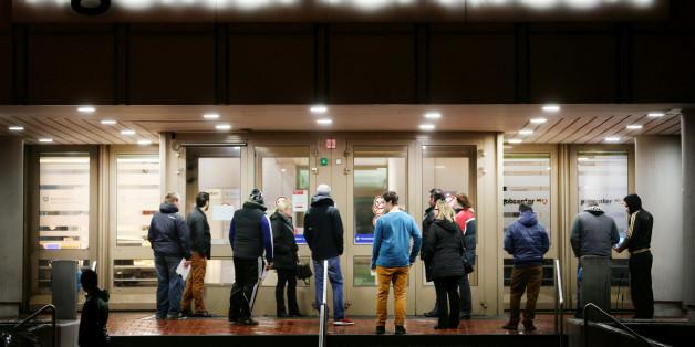 Die Arbeitslosenzahl in Europa ist gesunken.