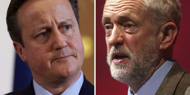 "File photos of Prime Minister David Cameron (left) and Labour Party leader Jeremy Corbyn, who has challenged Mr Cameron to take part in an annual ""state of the nation"" televised debate with other political leaders."