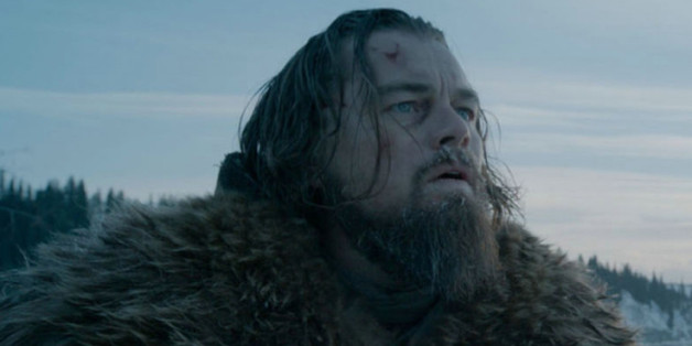 "Leonardo DiCaprio als Hugh Glass in ""The Revenant"""