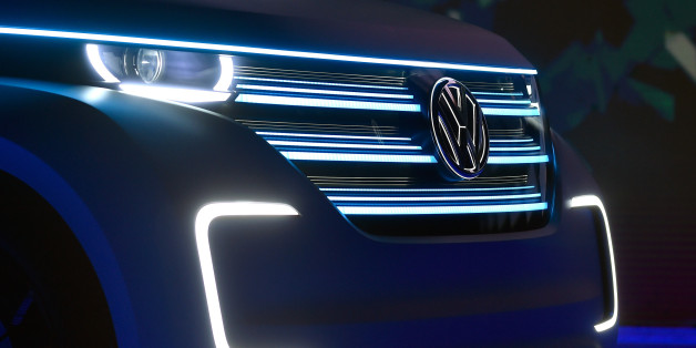 Volkswagen a dévoilé son combi électrique BUDD-e au CES 2016 de Las Vegas, le 5 janvier.