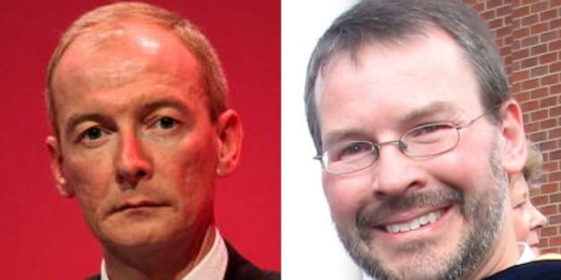 Left, Pat McFadden. Right, Pat McFadden