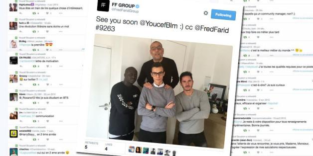 Grâce à sa lettre de motivation géniale sur Twitter, Youcef Boualem a décroché le stage qu'il convoitait