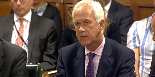 Sir Philip Dilley, Environment Agency Chairman, gives evidence to the Environment, Food and Rural Affairs Committee in the Palace of Westminster, London, on recent flooding which swamped around 16,000 homes in England.