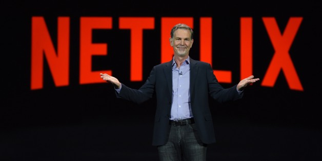 Netflix CEO Reed Hastings gives a keynote address, January 6, 2016 at the CES 2016 Consumer Electronics Show in Las Vegas, Nevada.  AFP PHOTO / ROBYN BECK / AFP / ROBYN BECK        (Photo credit should read ROBYN BECK/AFP/Getty Images)
