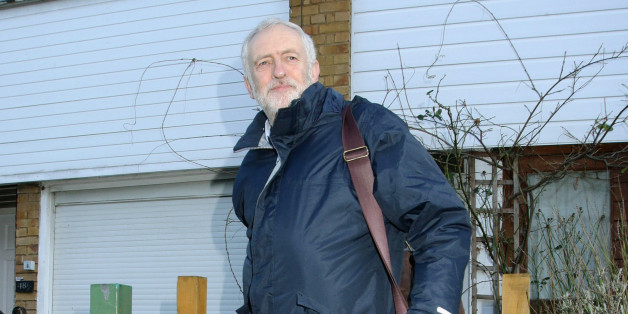 Labour Party leader Jeremy Corbyn leaves his home on Tueday as the reshuffle reached the half-way stage