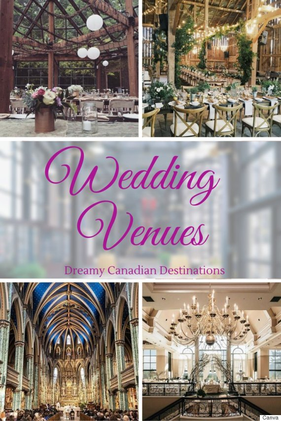 Canadian Wedding Venues